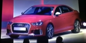 2018 Audi RS3 Sedan Getting Ready for Launch in 2017