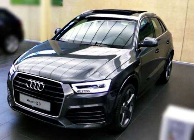 2017 audi q3 caught testing under heavy camouflage. Black Bedroom Furniture Sets. Home Design Ideas