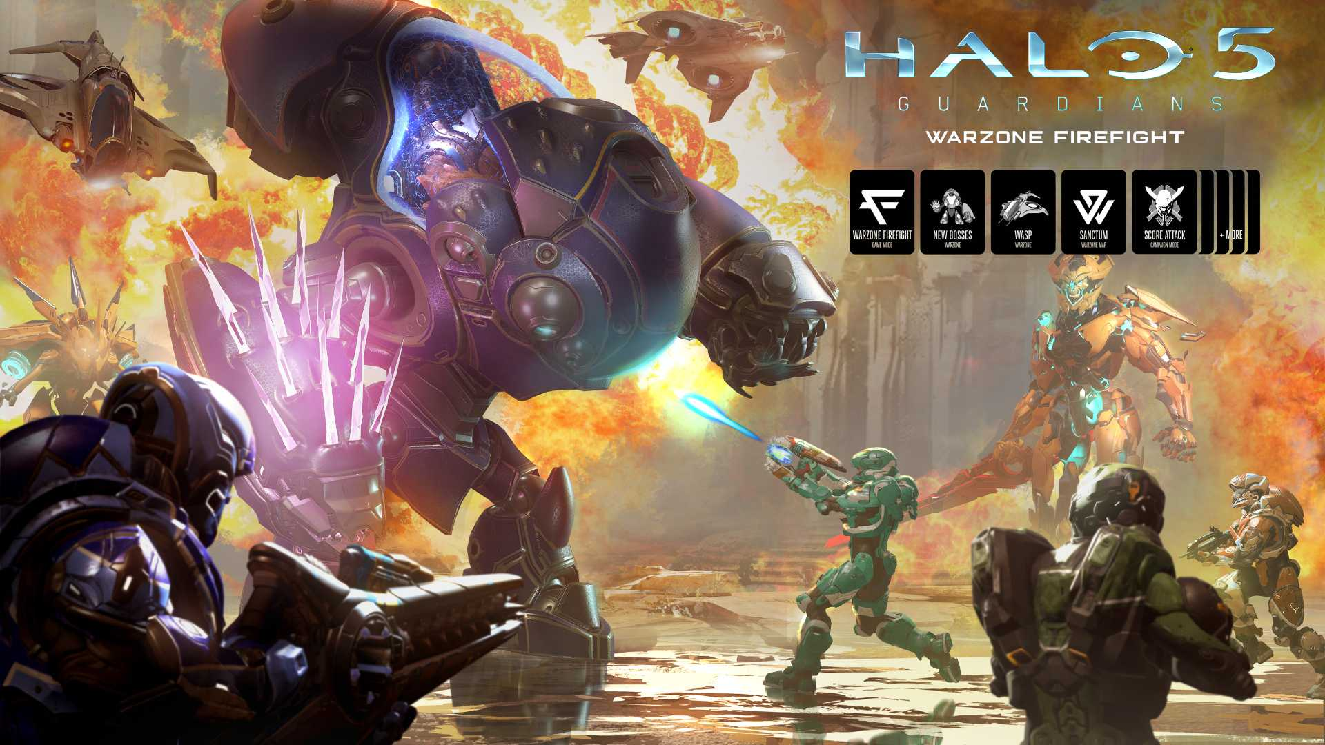 Halo 5 Gets Warzone Firefight Next Week, Game Goes Free For Limited Time