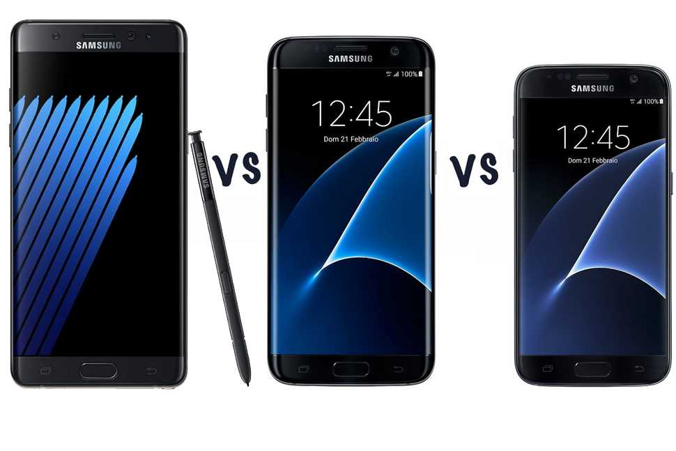 samsung galaxy s7 vs galaxy note 7 what s the difference. Black Bedroom Furniture Sets. Home Design Ideas