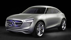 Mercedes Releases Teaser Image of Electric SUV Ahead of Paris Expo
