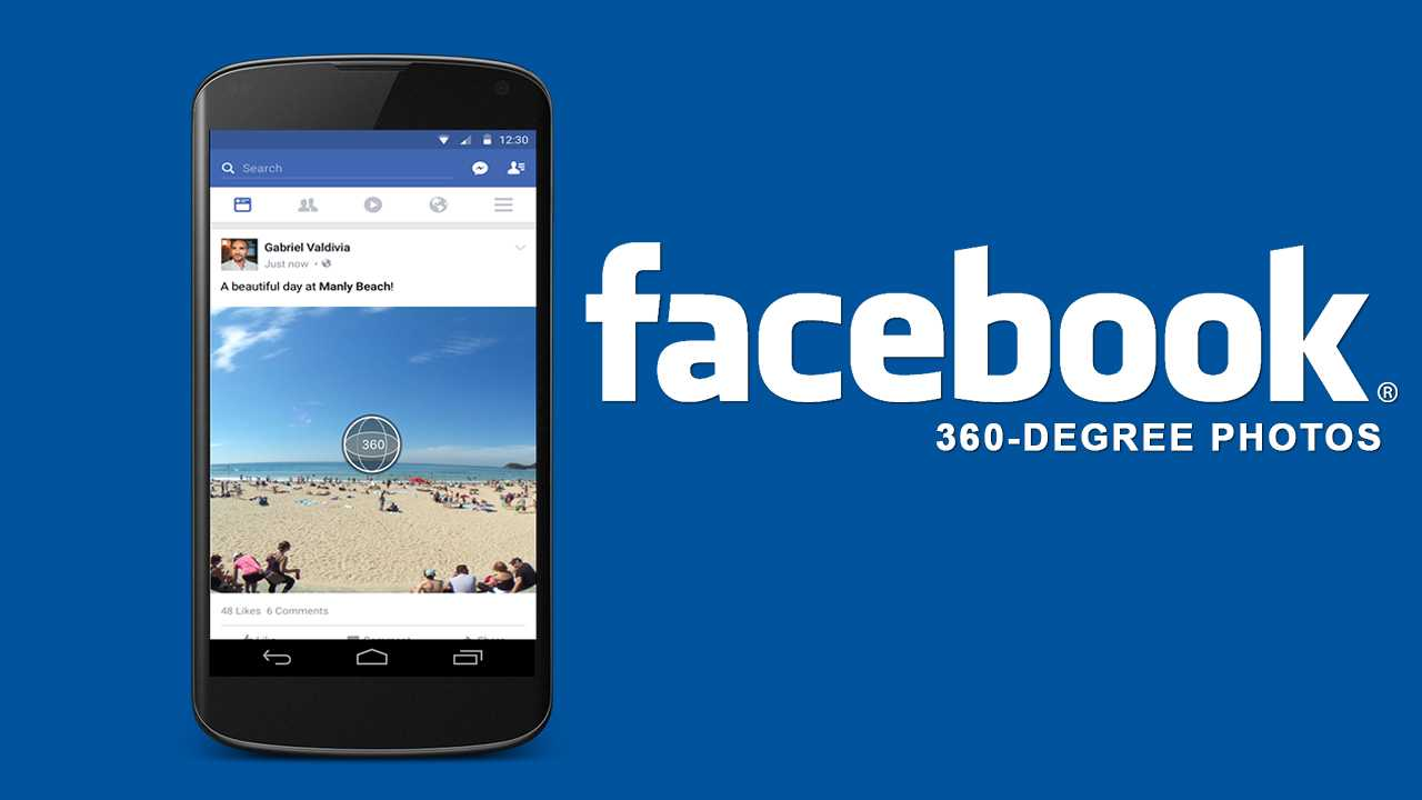Facebook Comes Up With Its Initial View For 360 Degree
