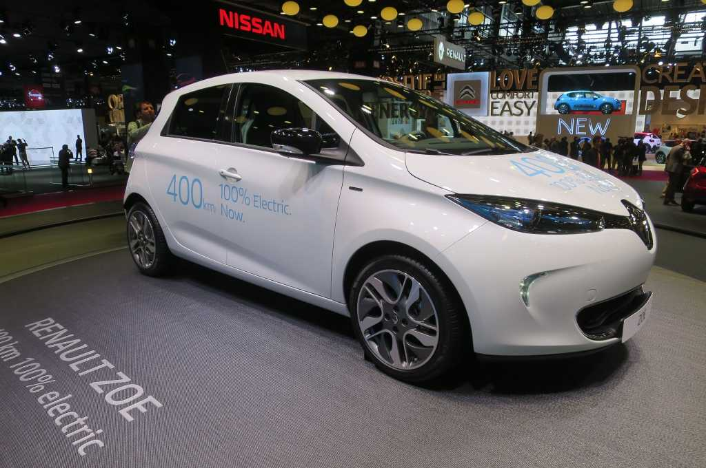 Renault zoe redesigned edition brings new flavor to for Electric motors nashville tn