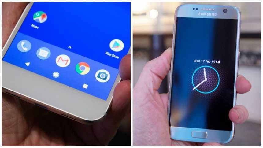 Google Pixel vs. Samsung Galaxy S7 – The Best 5-Inch ...