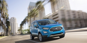 2018 Ford EcoSport SUV is all About Technology and In-Car Experience
