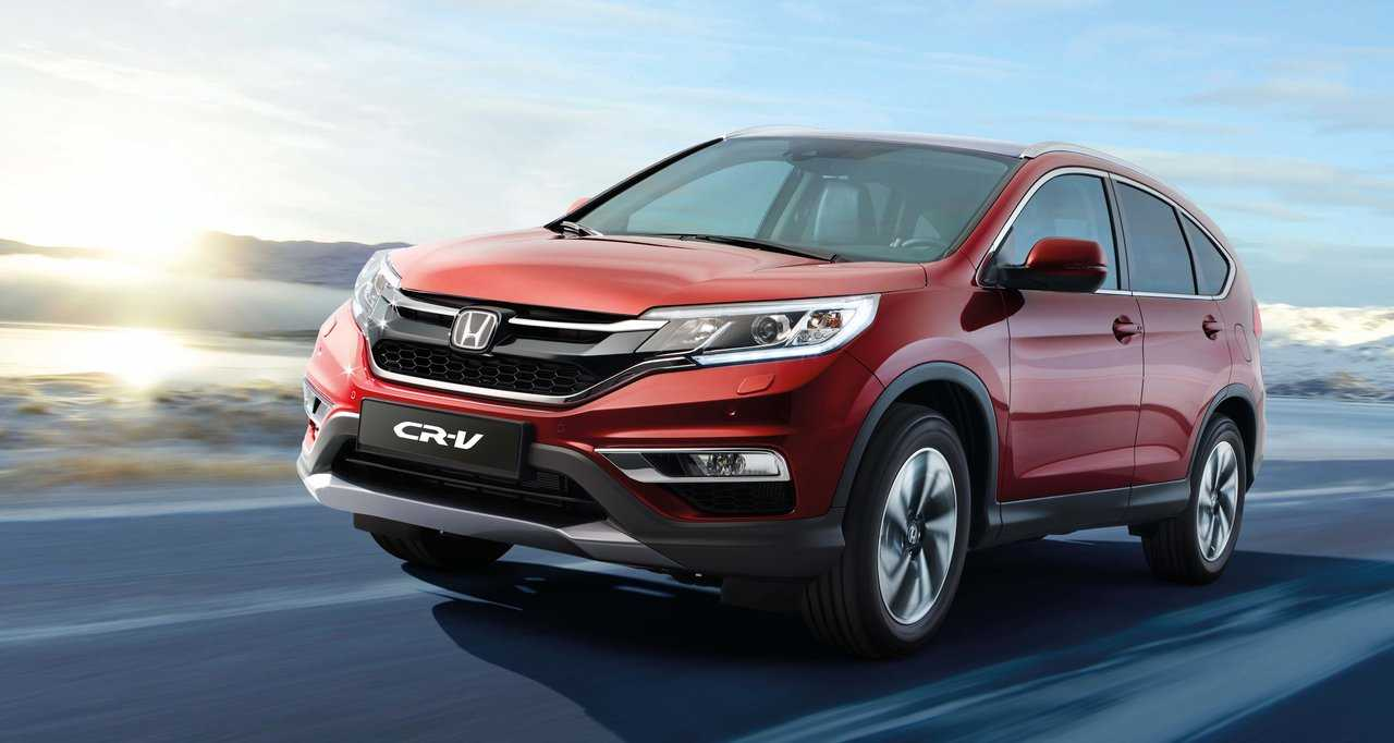 2017 Honda Cr V Prices Only A Small Premium Over The Cur Generation Models
