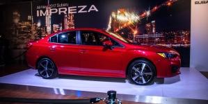2017 Subaru Impreza Updated Platform, Design and Specs Detailed