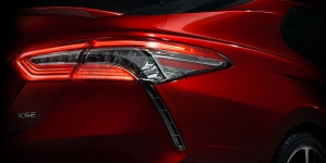 2018 Toyota Camry Teaser Photo Released Before Detroit Debut