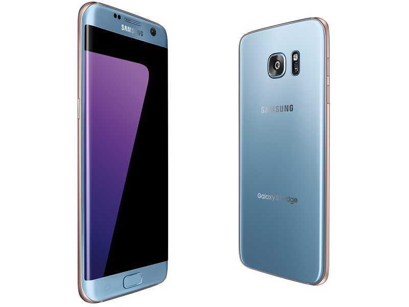 Blue Coral Galaxy S7 Edge
