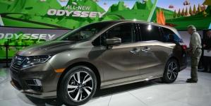 2018 Honda Odyssey Minivan Specs, Powertrain and More Revealed at 2017 NAIAS Event