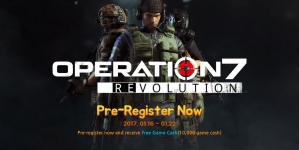 Operation7 Revolution PS4 Exclusive FPS Game Now Open for Pre-Registrations