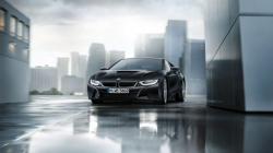 BMW Announces Model Fleet : i8 Protonic Frozen Black and Yellow Edition Ahead of Geneva Motor Show 2017