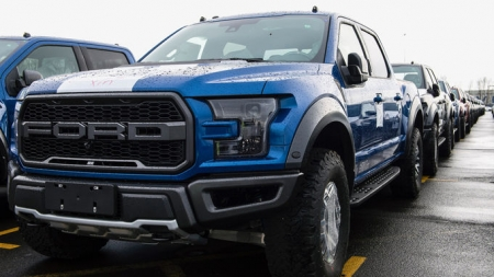 2017 Ford F-150 Raptor is the First F-Series Heavy Duty Truck to Head to China