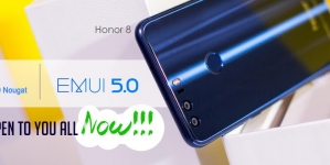 Huawei Honor 8 Android Nougat Update Rolling out to Everyone (India)