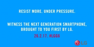 New LG G6 Teaser Confirms Water and Dust Resistance, over 3200mAh for the Battery