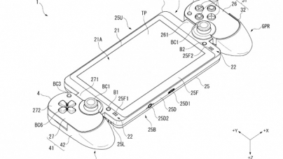 Sony's New Patent Looks like a PS Vita Hybrid, Could be a Nintendo Switch Competitor