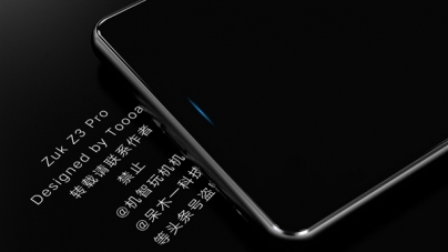 Lenovo ZUK Z3 Pro Concept Renders Surface, Snapdragon 835 and 8GB RAM Touted