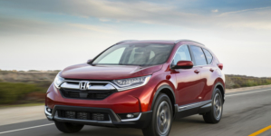IIHS Awards 2017 Honda CR-V Superior Rating Top Safety Pick+