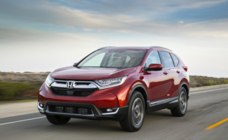 IIHS Awards 2017 Honda CR-V Superior Rating Top Safety Pick+