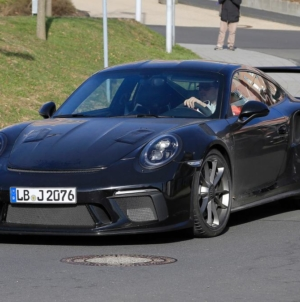 2018 Porsche 911 GT3 RS Revamped Edition Spotted in Spy Photos