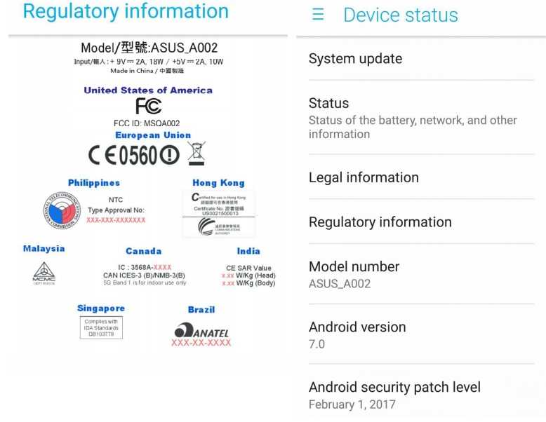 ASUS ZenFone AR U.S. Release Imminent as FCC Clears the 1st Tango and Daydream-Enabled Phone