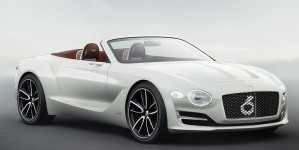 Bentley Reveals All-Electric EXP 12 Speed 6e Concept Car at Geneva Expo