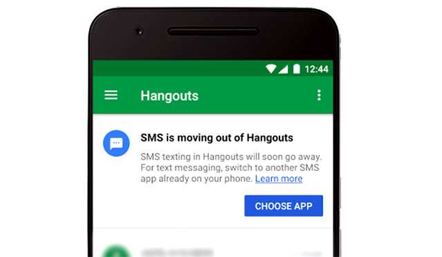 Google Hangouts Ends Support for SMS, Except for Project Fi and Google Voice users