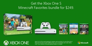 Xbox One S Ultimate Minecraft Bundle at $250 is Discounted for Limited Time