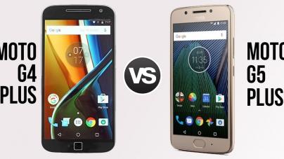 Moto G5 Plus vs Moto G4 Plus – A 30% Performance Improvement, Top-class Camera at Rs 14,999