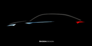 Skoda's New Electric Vehicle is Heading to Shanghai Expo, New Teaser Image Released