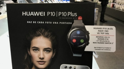 Deal: Pre-order the Huawei P10 before March 15 and Get a Free Huawei Watch 2