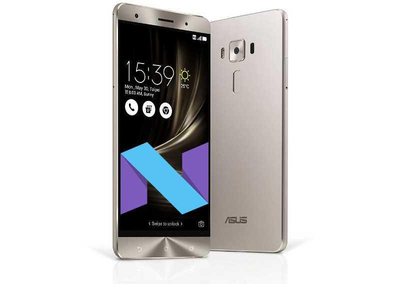 [Update: ZS570KL] ASUS ZenFone 3 Deluxe Gets Android 7.0 Nougat OTA Update