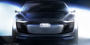 Audi Reveals Teaser Images of Pure Electric Coupe-like SUV Before Shanghai Expo