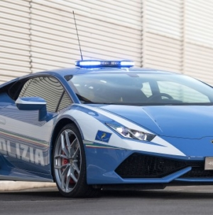 Lamborghini Huracan Polizia with Custom Modifications Delivered to Italian Highway Patrol