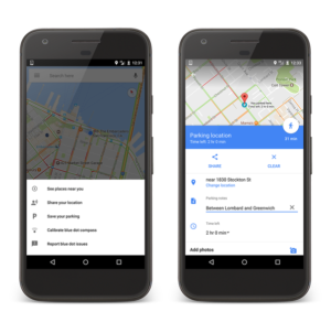 Latest Google Maps Update Lets the App Remember and Share your Parking Location