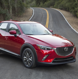 Mazda CX-3 Gets New Features, GT Sport Model Limited Edition Announced