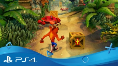 PS4 Exclusive Crash Bandicoot N. Sane Collection Gets a Gameplay Video