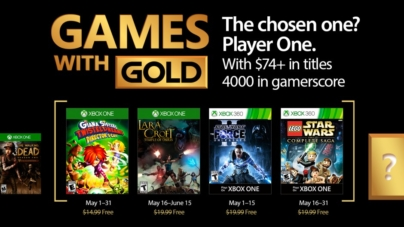 Xbox Live Games with Gold for May 2017 Offers Star Wars Series and Lara Croft