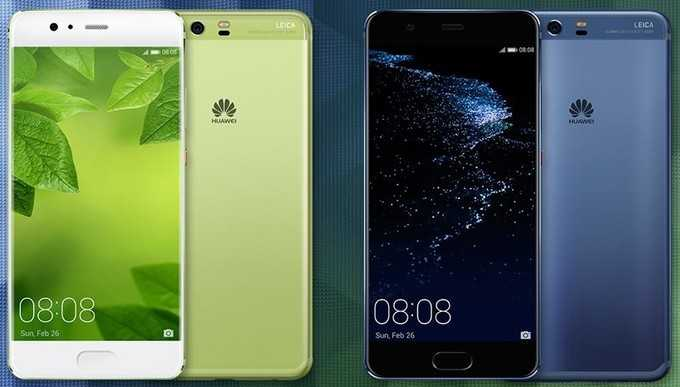 Samsung Galaxy S8+ vs Huawei P10 Plus
