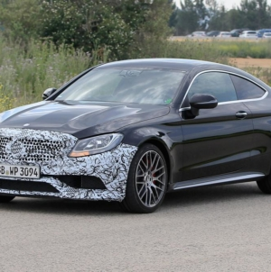 2018 Mercedes AMG C 63 Coupe Spotted, Minor Changes Expected