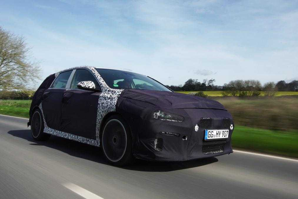 Hyundai i30 N Testing in UK Commences Before Official Launch