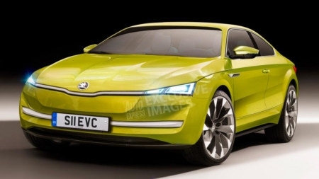 Skoda is Working on a New Sports Car with EV Technology