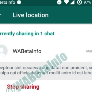 WhatsApp Live Location Sharing on Android Version 2.17.192 Gets New UI, Privacy Settings