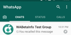 WhatsApp for Android 2.17.171 Gets a Message Recall Icon