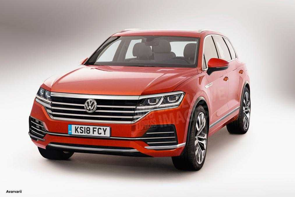 2018 volkswagen touareg suv new images and specs leaked. Black Bedroom Furniture Sets. Home Design Ideas