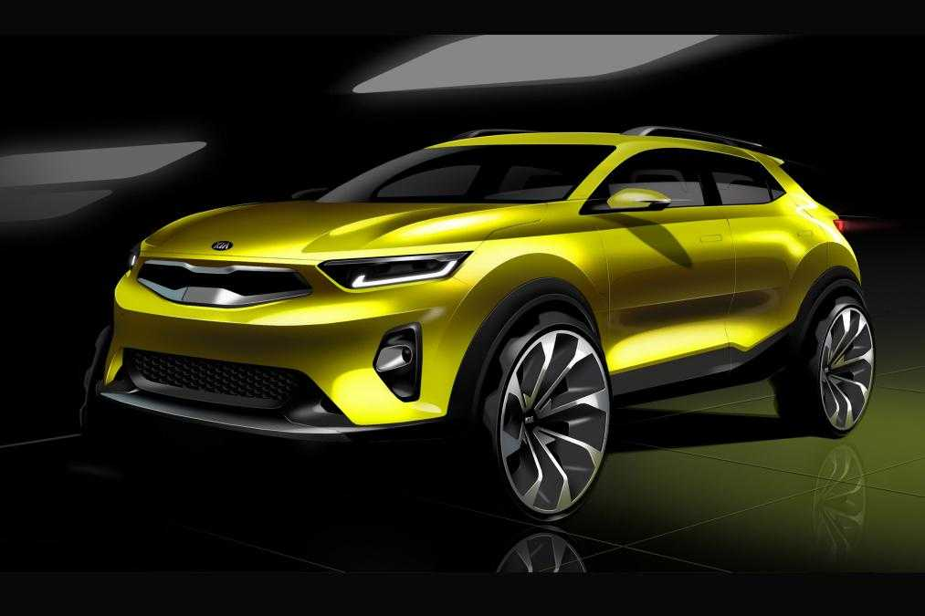 Kia Stonic Suv Revealed In New Sketches Sports Brand New