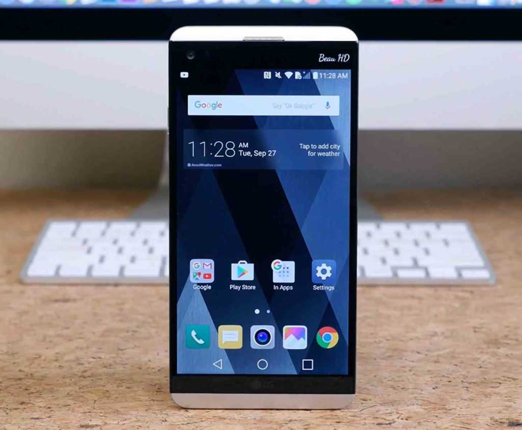 LG V30's secondary display screen will be absent