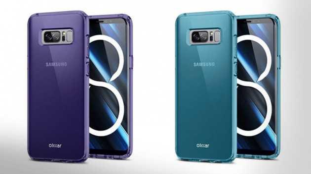 Samsung Galaxy Note 8 olixar