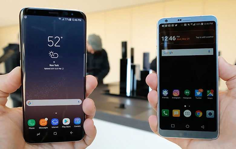 5 Reasons To Switch From Lg G6 To Samsung Galaxy S8