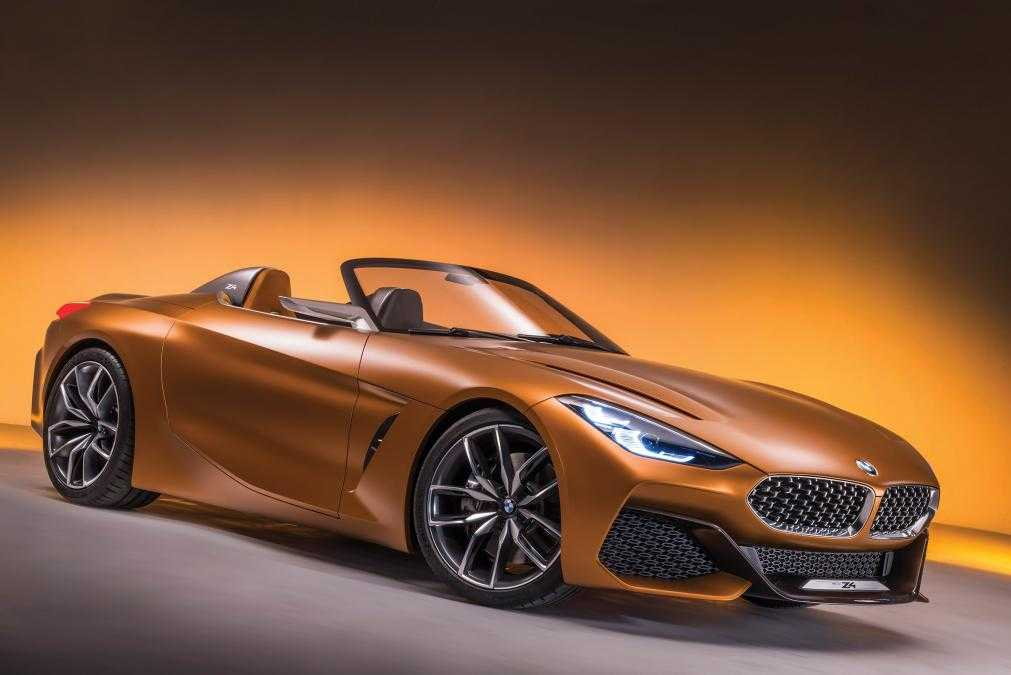 2018 Bmw Z4 Concept At Pebble Beach Is Bold And Breathtakingly Stylish